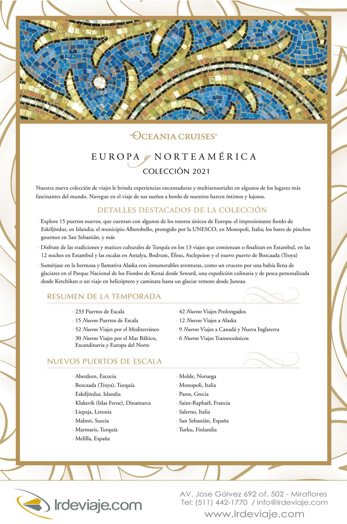 Europa Norteamérica 2021