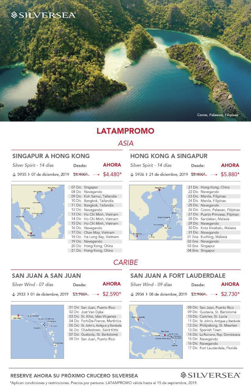 Silversea LatamPromo Asia y Caribe